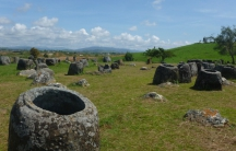Drones help identify objects on Laos's historic Plain of Jars