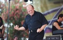 Joe Cocker performing at Gulfstream Park in Hallandale, Florida, in 2003.
