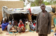 Aba Ali, a Nigerian refugee who fled from his village in northeastern Nigeria
