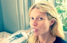 Gwyneth Paltrow posted this selfie on Twitter started a global trend when she posted a selfie on Twitter, without any makeup on.
