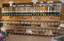 Bulk food bins