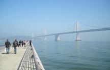 Pier 14 in San Francisco, where a woman was killed last week.