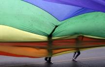 Monterrey Pride parade
