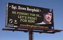 A billboard calling for the release of US Army Sergeant Bowe Bergdahl, held for nearly five years by the Taliban after being captured in Afghanistan, is shown in this picture taken near Spokane, Washington on February 25, 2014. Bergdahl has been released