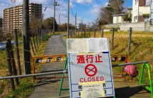 Radiation hotspot in Kashiwa, February 2012