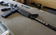 mass shooting - Ruger AR-15 rifle