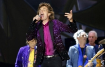 The Rolling Stones in San Diego, California on May 24, 2015.