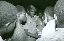 The former president of Burkina Faso, Thomas Sankara