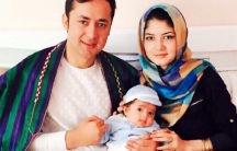 Afghan journalists Sayara Samadi and Mohammad Qais Rahmani lost their baby son trying to cross from Turkey to Greece by boat.