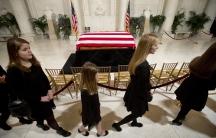 Scalia's casket
