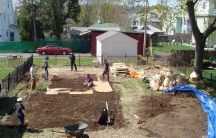 Eric Toensmeier's backyard farm