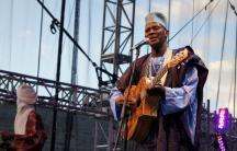 Malian singer-songwriter Sidi Touré.