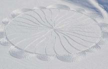 Beck snow art