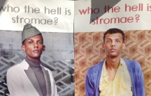 Stromae poster on a wall in Austin, Texas.