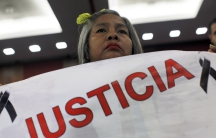 Mother of one of the 43 missing Mexican students asks for justice
