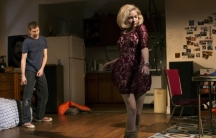 """Michael Cera and Tavi Gevinson in """"This Is Our Youth"""" at New York's Cort Theatre"""