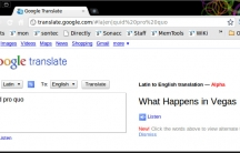 "Google Translate turns ""quid pro quo"" into ""What happens in Vegas!"""