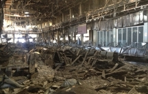 A terminal at Tripoli's airport is in shambles after a series of clashes between rival Libyan militias.