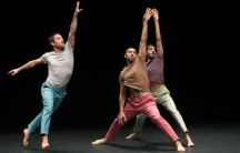 The dance, The Hill, by Roy Assaf had it's American premiere at the Jacob's Pillow Dance Festival this summer.