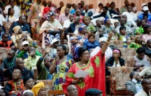 Women leaders increase the peace