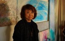 Painter and sculptor Nancy Uyemura