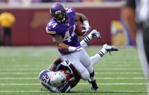 Minnesota Vikings running back Matt Asiata