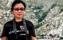 Woeser on a visit to Tibet, where she grew up.
