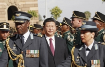 Xi Jinping in South Africa