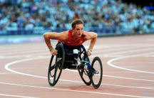 Tatyana McFadden at the London Paralympics