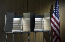 Voting booths. Credit: Shutterstock