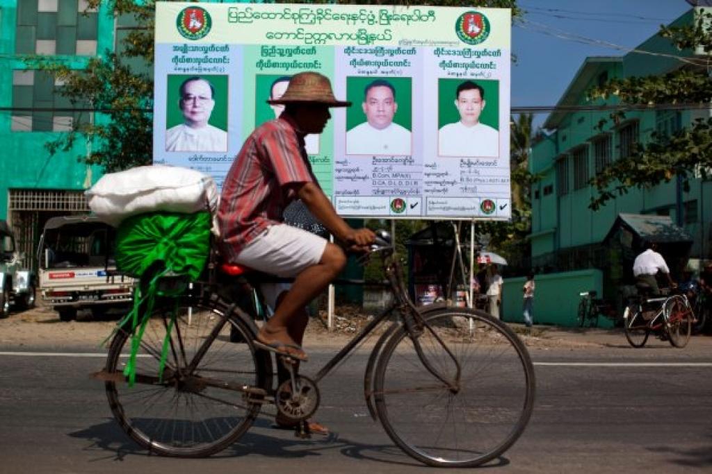 Burma election 2010