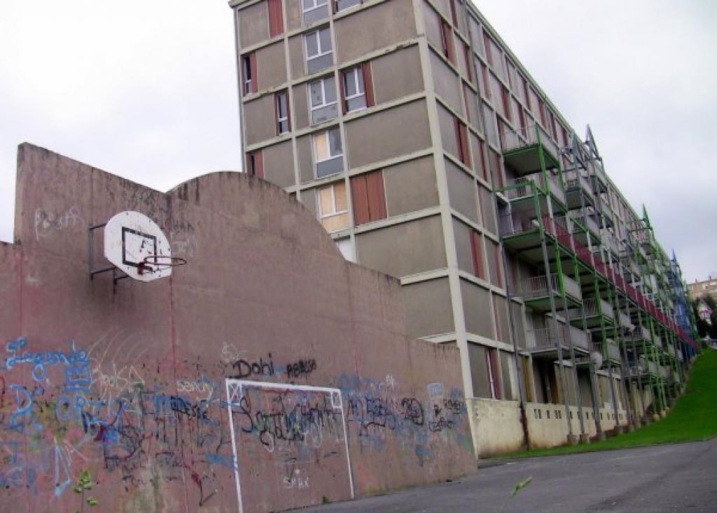 Social housing in Revin, France