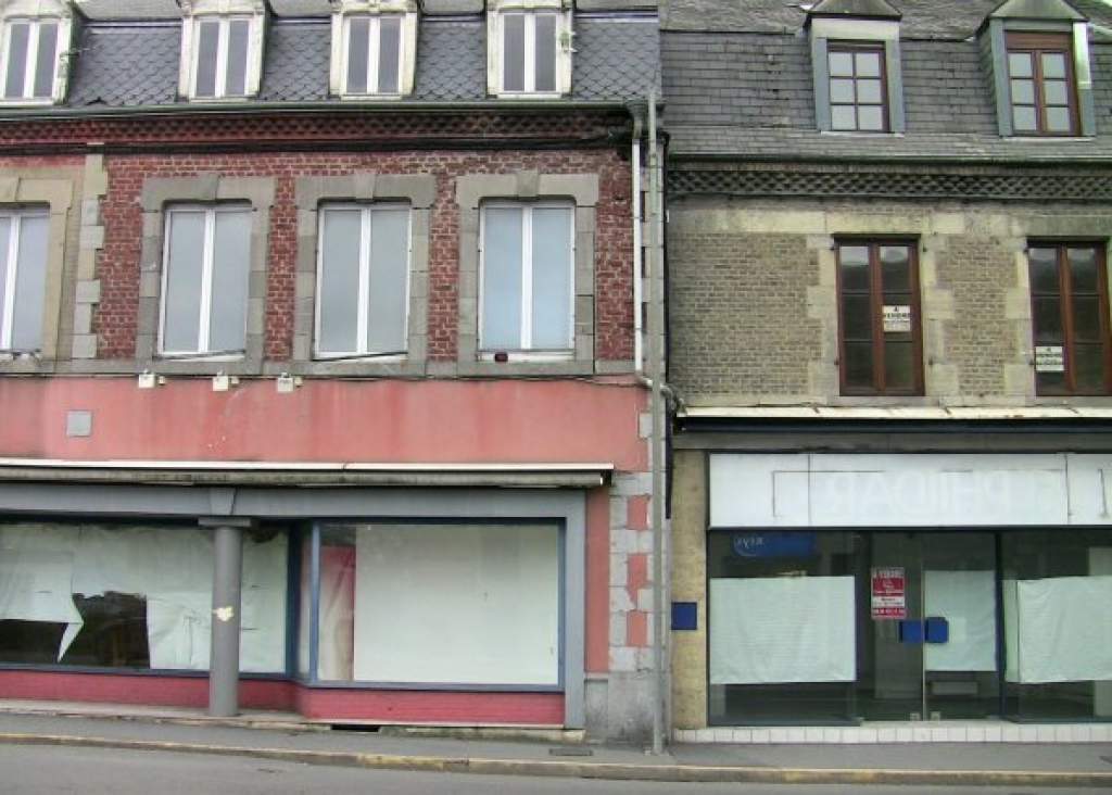 Revin, France closed shops