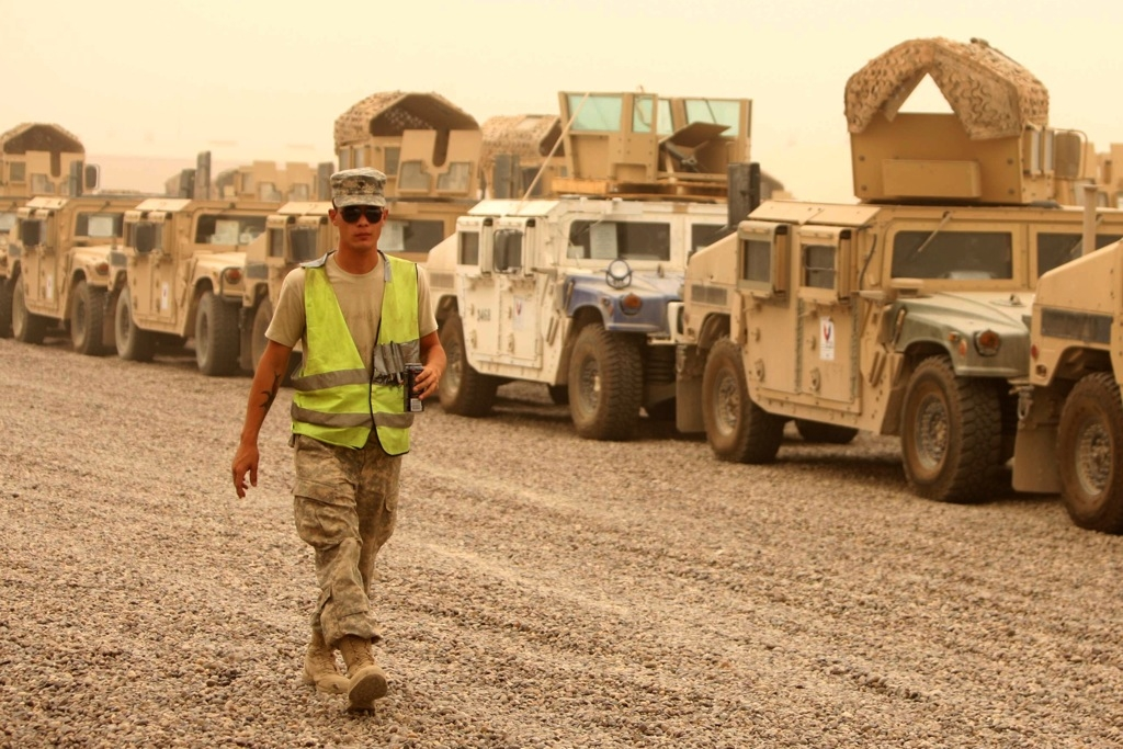 Iraq: U.S. troops withdraw
