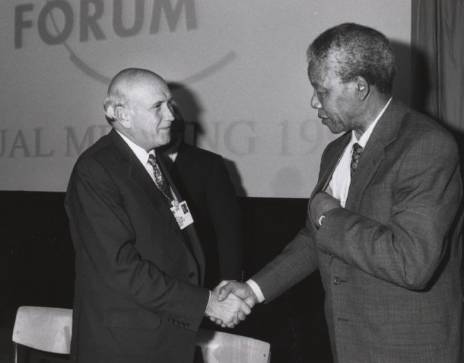 What gave nelson mandela hope for the future of south africa — photo 2