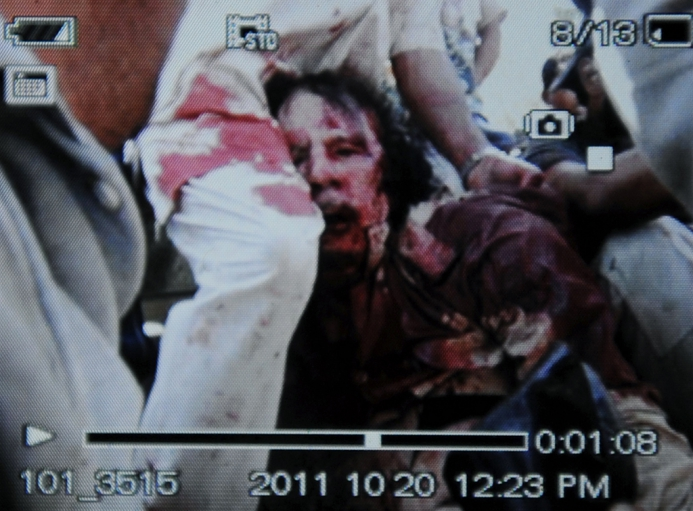 Gaddafi sodomized: Video shows abuse frame by frame (GRAPHIC