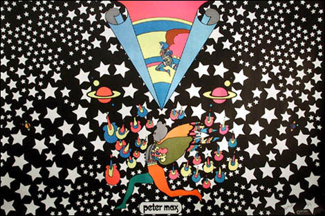 Peter Max Revisits His Early Days as a Jewish Refugee ...  Peter Max 60s