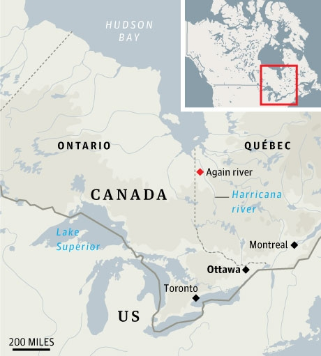 Explorer to Navigate Uncharted River in Canadas Hudson Bay