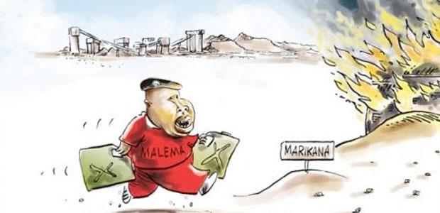 Cartoon: Brandan, South Africa