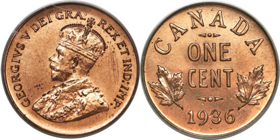 Worth a Mint: Rare Canadian Penny Up for Auction | Public ...