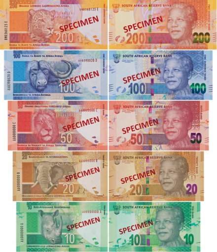 South Africa S New Mandela Currency Photo Reserve Bank