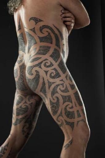 getting inked the story behind traditional maori tattoos public radio international. Black Bedroom Furniture Sets. Home Design Ideas