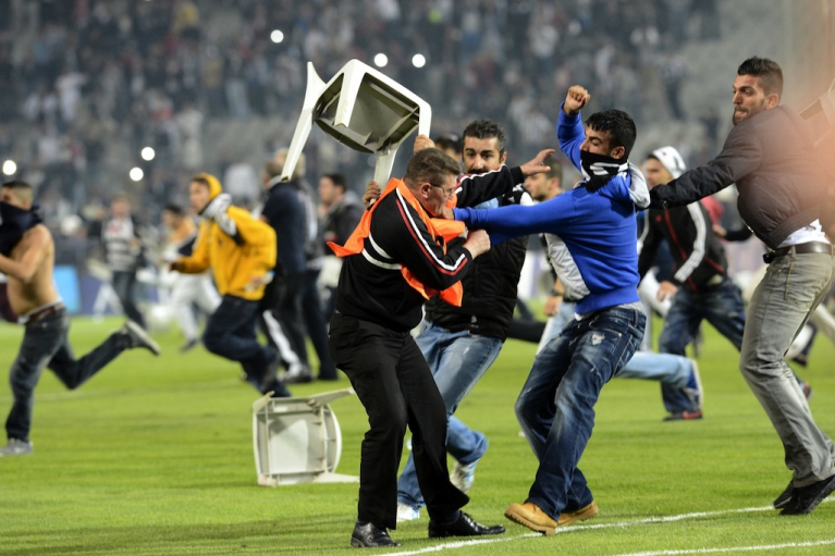 Top 10 Most Insane Soccer Riots In History - Toptenz.net
