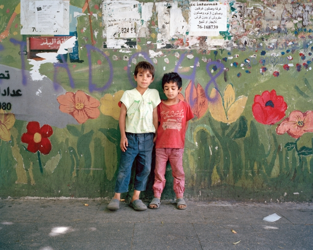 Brothers, name withheld, Beirut 2014.