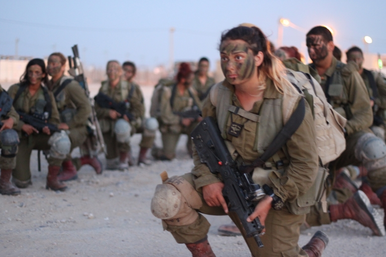 Israel's female combat soldiers have a history