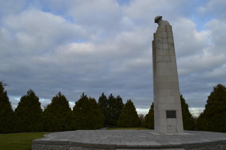 Canadian memorial near Ypres