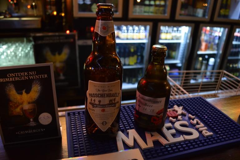 WWI memorial beer