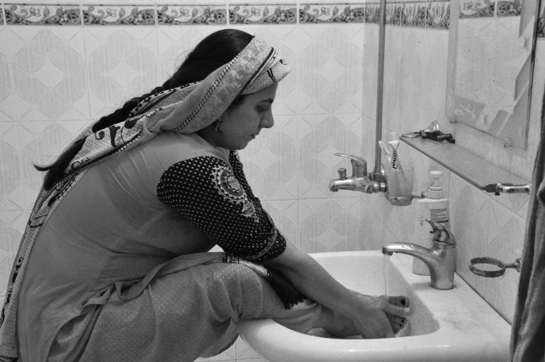 Fatima Haroon, a pregnant woman in Pakistan