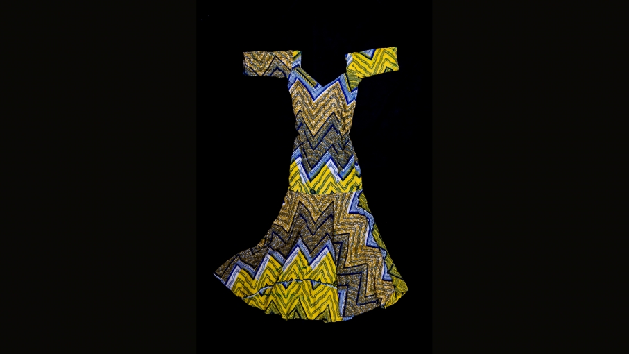 A dress owned by Hajara Isa, one of the kidnapped girls.