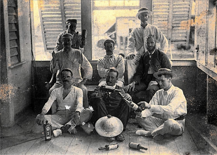 These men were overseers of indentured laborers in British Guiana.